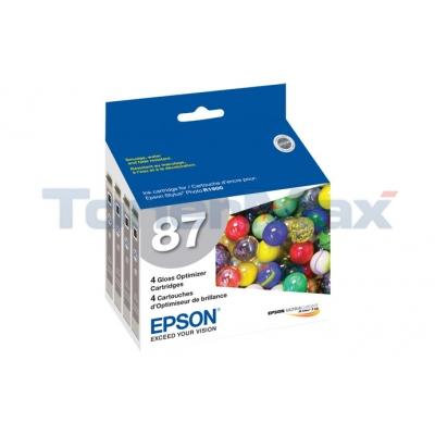 EPSON STYLUS PHOTO R1900 NO 87 GLOSS OPTIMIZER BLACK